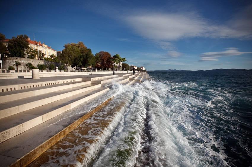 Amazing Sea Organ Makes Haunting Music