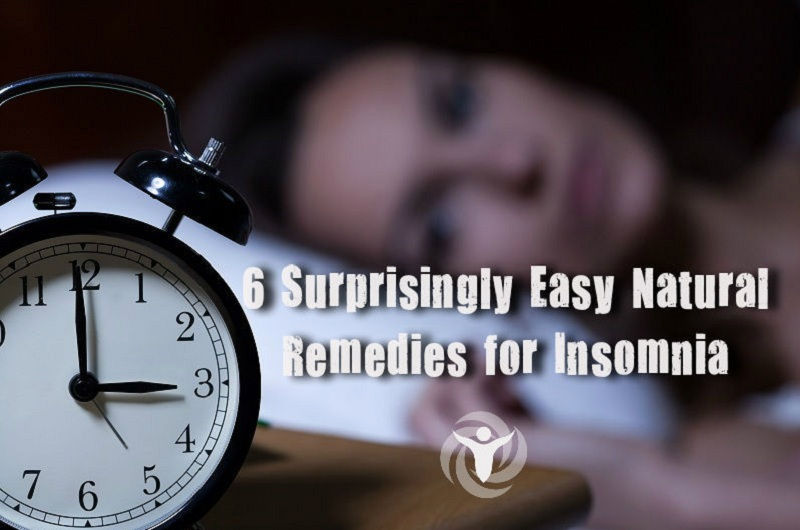 6 Surprisingly Easy Natural Remedies for Insomnia