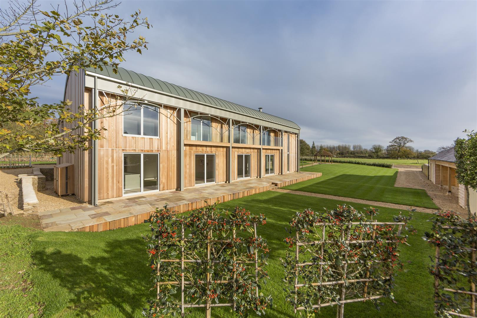 modern country house oxfordshire 2