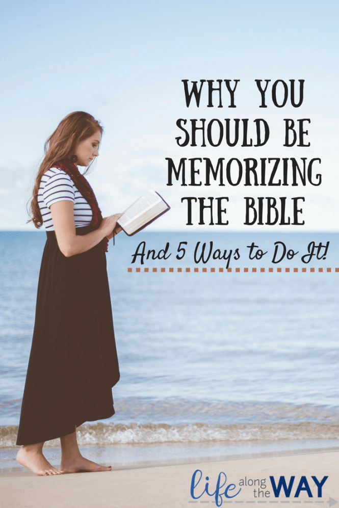 Why You Should Be Memorizing the Bible(1)