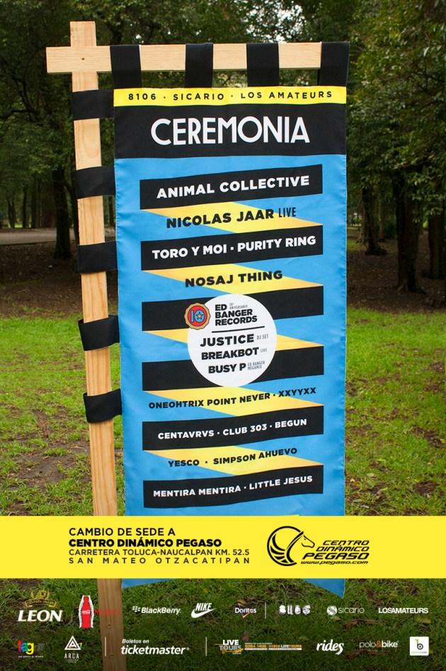 Nuevo póster de Ceremonia.