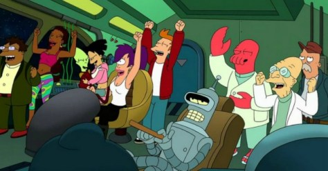 Futurama regresará pronto, pero no como serie de TV ni como película