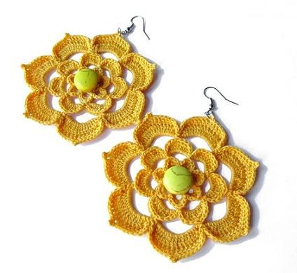 Free Crochet Patterns For Earrings : Beautiful Crochet Earring Designs and Ideas - Life Chilli