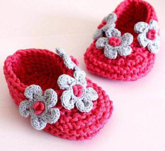 Beginner Crochet Baby Booties Pattern Free : Crochet Baby Booties Patterns For Beginners - Life Chilli