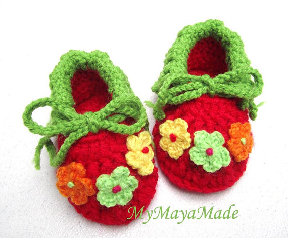 All Free Crochet Baby Booties Patterns : Crochet Baby Booties Patterns For Beginners - Life Chilli