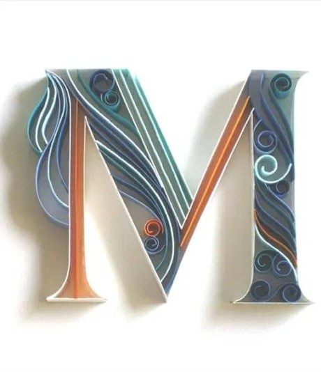 quilling-alphabets