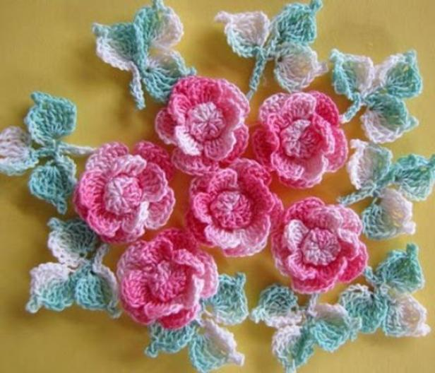 Crochet Flower Patterns and Designs For Beginners