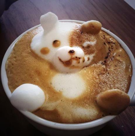 coffee-art-panda