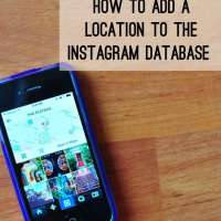 Instagram Tips: How to Add a New Location to the Instagram Database
