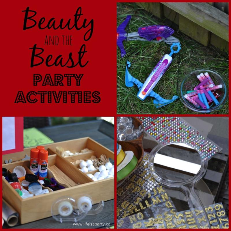 Large Of Beauty And The Beast Party Ideas