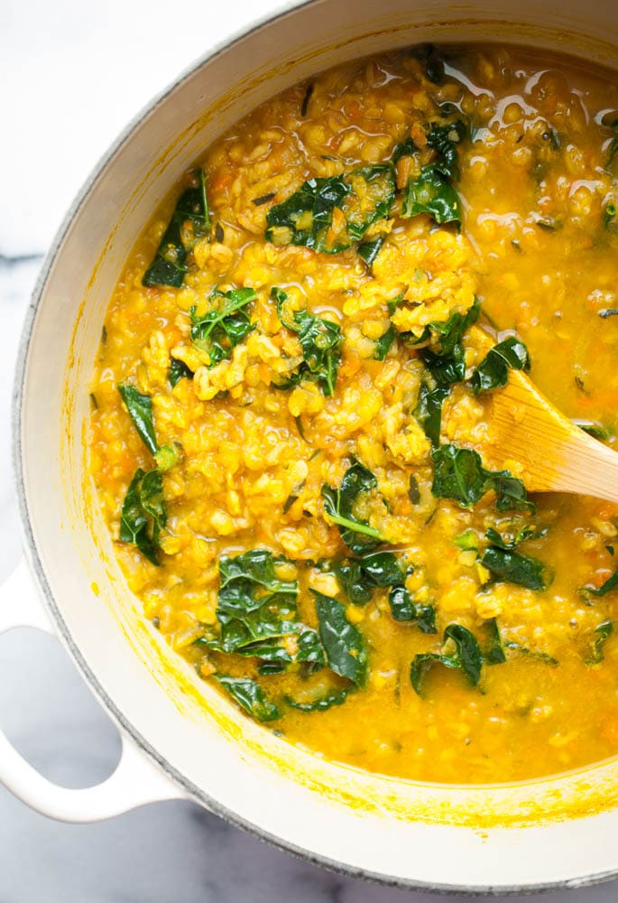 Healing Turmeric Lentil & Farro Soup – life is but a dish