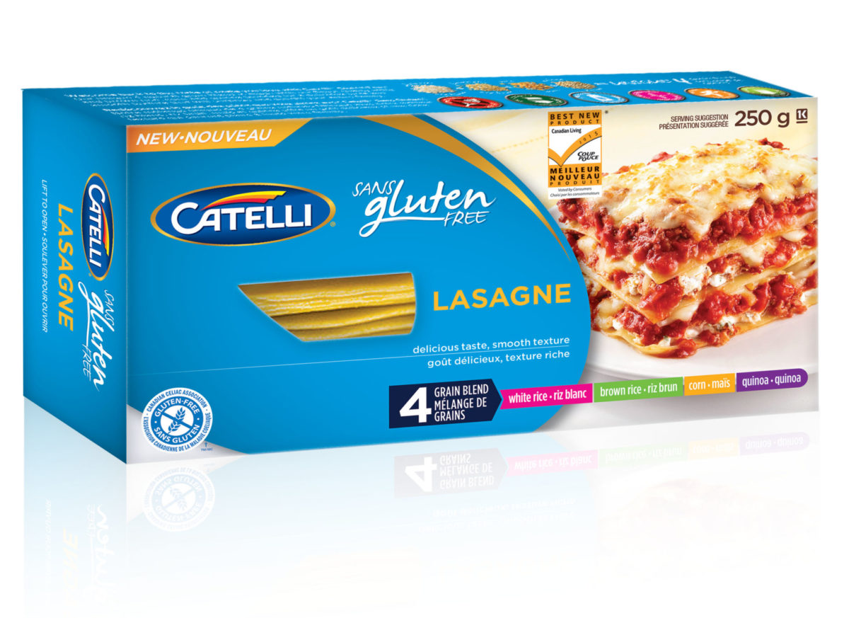 ... and Goat cheese Lasagne with Catelli gluten free lasagne plus giveaway