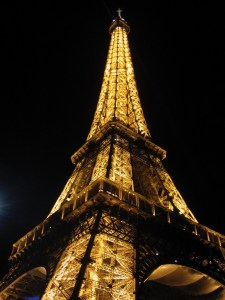 Life is My Oyster - Eiffel Tower