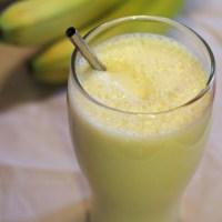 Classic Banana Milkshake Recipe