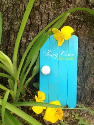 Fairy Door Kids Craft
