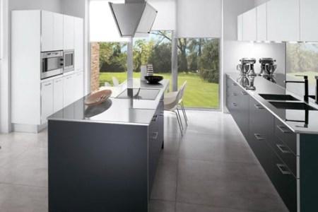 italian modern smoke grey laminate kitchen cabinets furniture design