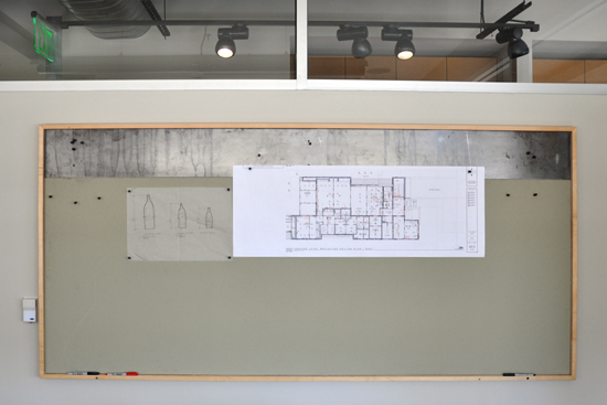 Architect's bulletin board