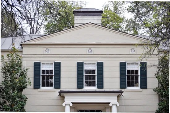 Greek Revival style house