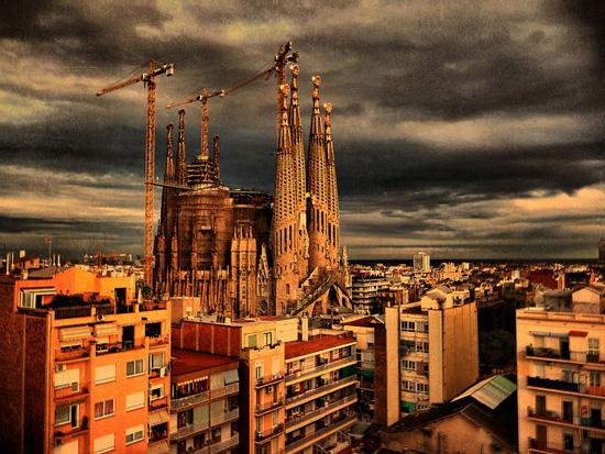 Sagrada Familia Cathedral in Barcelona