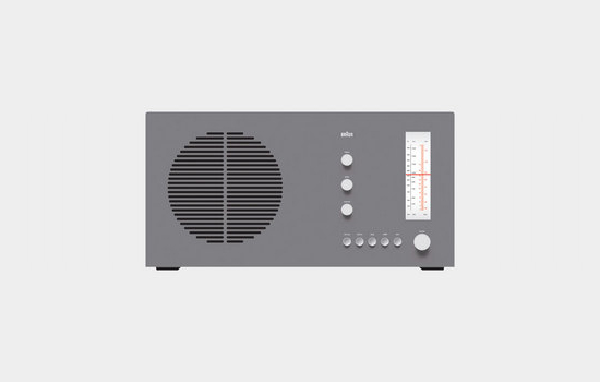 RT 20 tischsuper radio, 1961 by Dieter Rams for Braun