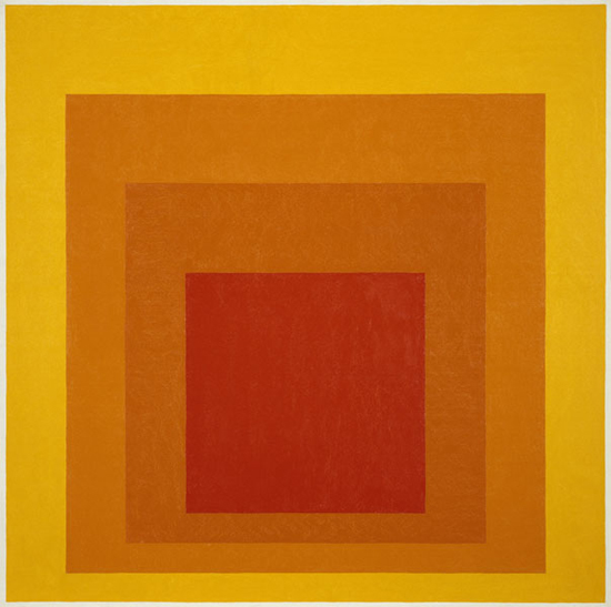 Josef Albers homage to the square 01