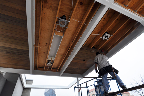 Wood Ceiling framing