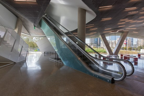 Escalator entry in main lobby 1 - Mark Knight Photography