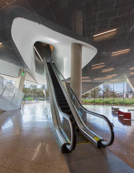 Escalator entry in main lobby 2 - Mark Knight Photography