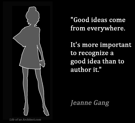 Design Quotes - Jeanne Gang