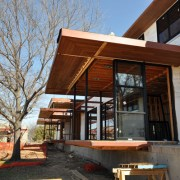 Cottonwood Modern - Cantilevered box at Master Bedroom