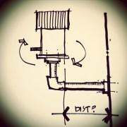 birdhouse sketch by Bob Borson