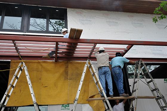 welders on the Cottonwood Modern