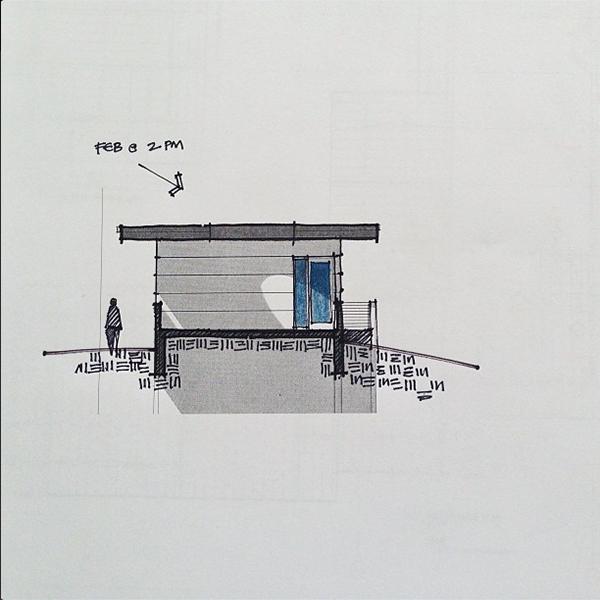 Architectural Sketches by Bob Borson