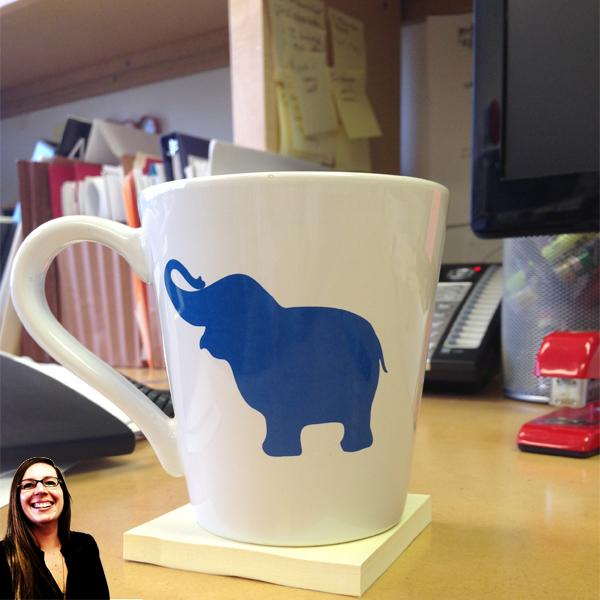 Architect Morgan Newman's coffee mug