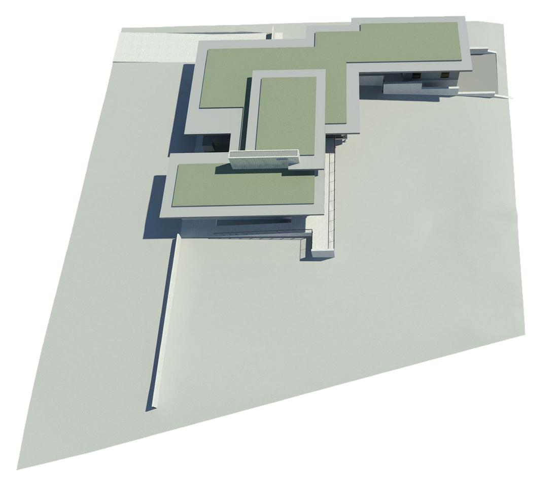KHouse Modern BIM site model Aug 2013
