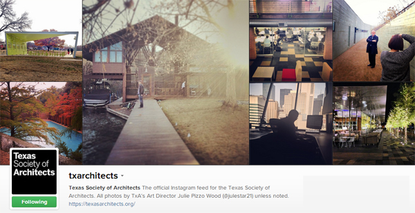Texas Society of Architects on Instagram