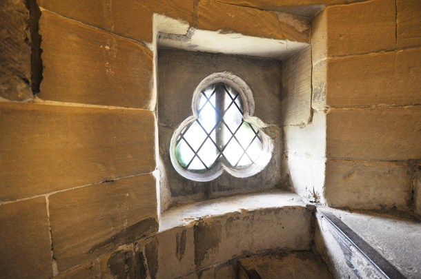 Salisbury Cathedral window detail