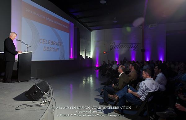 2014 AIA Austin Design Awards Celebration MC Bob Borson