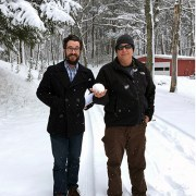 Bob Borson and Ryan Thomason in the snow thumbnail