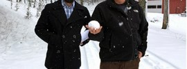 Bob Borson and Ryan Thomason in the snow thumbnail