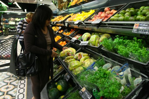 Fresh Veggies Section - a bit on the expensive side though