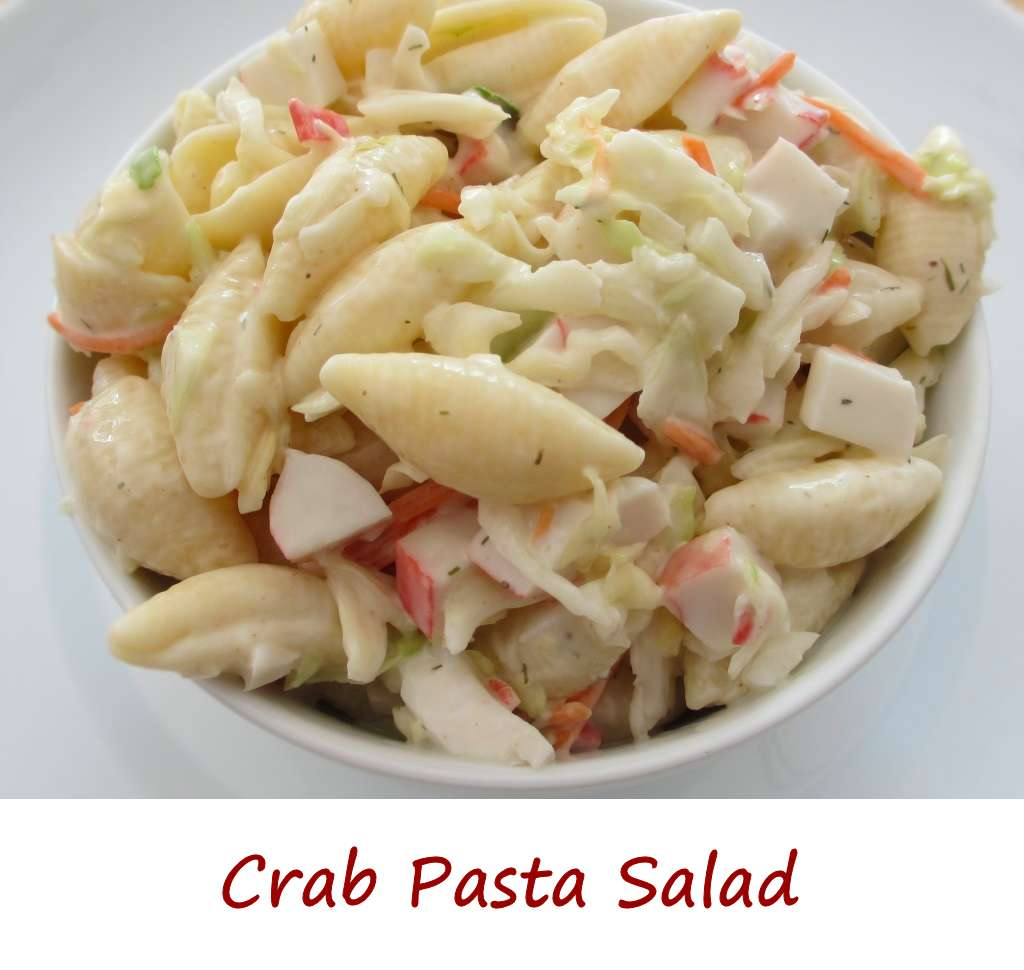 Crab Pasta Salad - Life's A TomatoLife's A Tomato