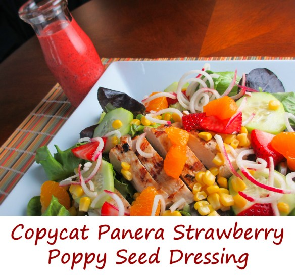 Copycat Panera Strawberry Poppy Seed Dressing