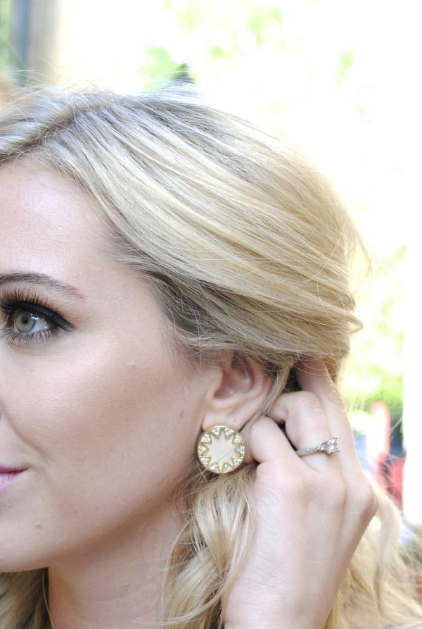 House of Harlow Sunburst Earring