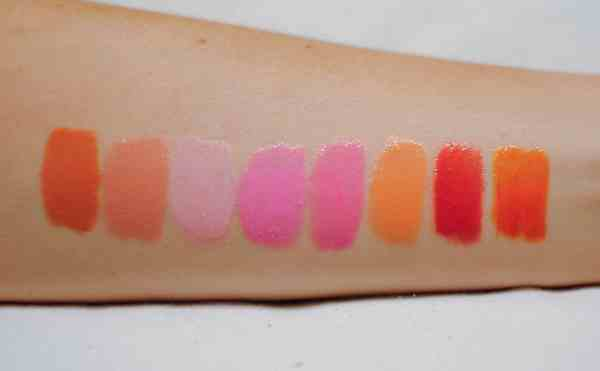 Whitening Lightning Lip Gloss Colors