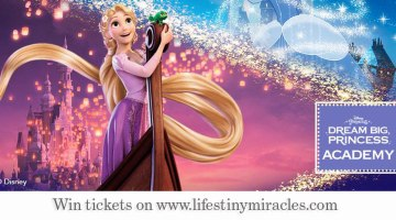 {Giveaway} Dream Big, Princess Academy!