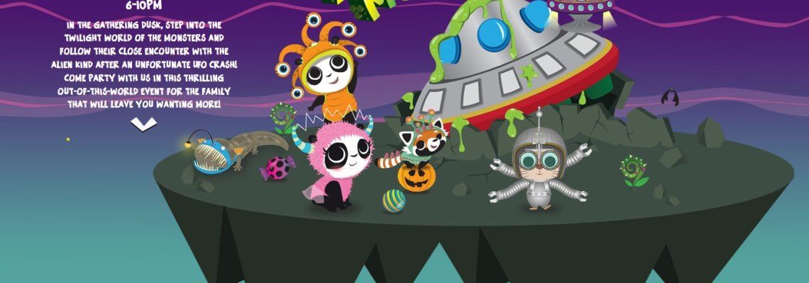 Safari Boo 2016 – Aliens and Monsters