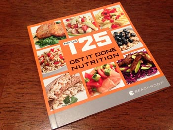 Focus T25 review - nutrition guide