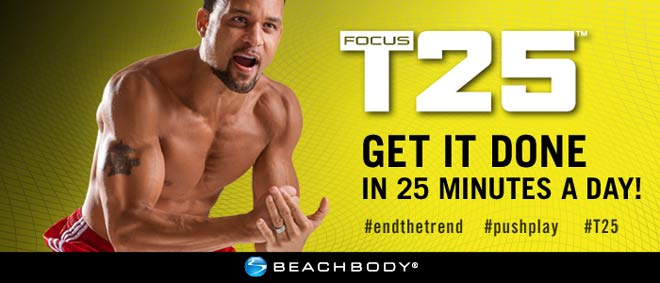 Focus T25 workout - media coverage