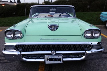 Fairlane front with letters